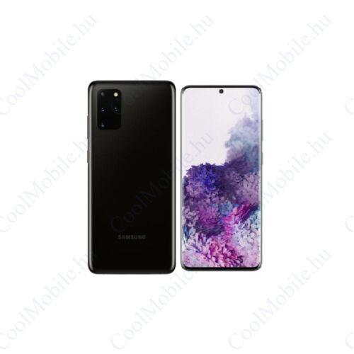 Samsung G985 Galaxy S20+ 128GB Dual Sim, kozmosz fekete, Kártyafüggetlen, 1 év gyártói garancia