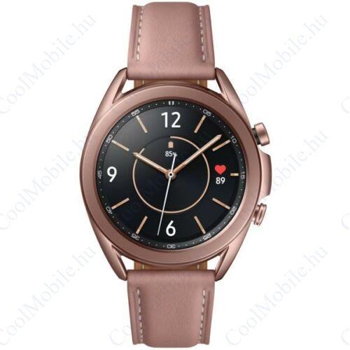 Samsung Galaxy Watch 3 okosóra 41mm (SM-R850), bronz