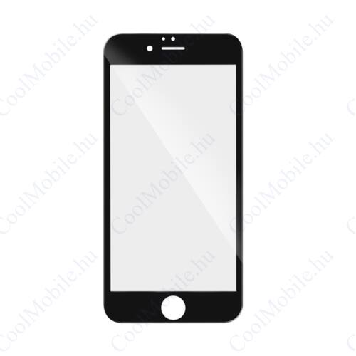 Samsung A205 Galaxy A20, 5D Full Glue hajlított tempered glass kijelzővédő üvegfólia, fekete