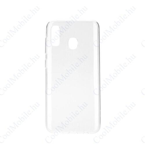 Samsung A205 Galaxy A20 Ultra Slim 0,3mm szilikon tok, átlátszó