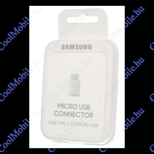 Samsung EE-GN930BWE Type-C - microUSB adapter, fehér, gyári