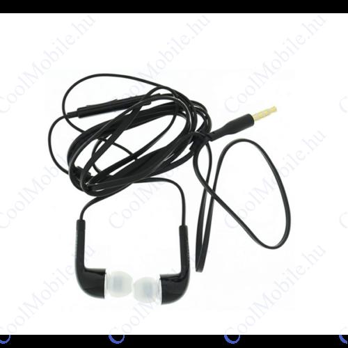 Samsung EO-EG900BB sztereó headset 3,5mm fekete, gyári ECO csomagolásban