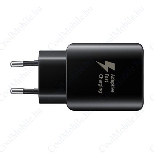 Samsung EP-TA300CB töltő + USB-C kábel, 5V/2.1A, gyorstöltő, fekete