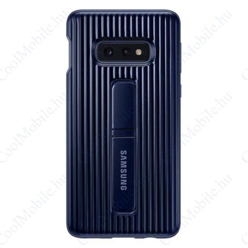Samsung G970 Galaxy S10e Protective Standing Cover, gyári tok, kék, EF-RG970CL