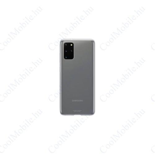 Samsung G985 Galaxy S20+ Clear Cover, gyári tok, átlátszó EF-QG985TT