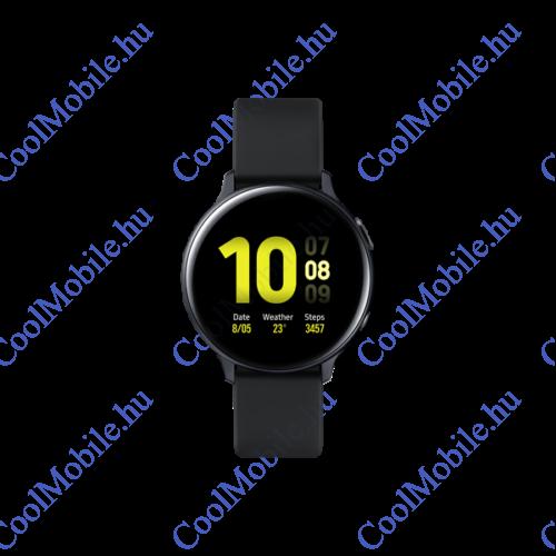 Samsung R820 Galaxy Watch Active 2 okosóra, 44mm, alumínium, fekete