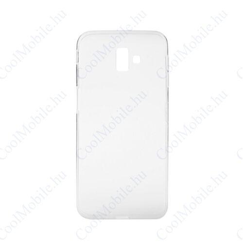 Samsung (J610) Galaxy J6+ Ultra Slim 0,3mm szilikon tok, átlátszó