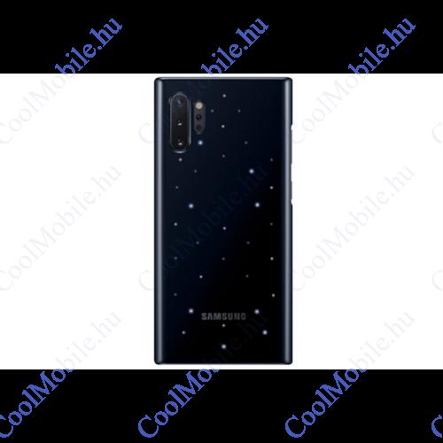 Samsung N970 Galaxy Note 10 LED Cover, gyári tok, fekete, EF-KN970CB