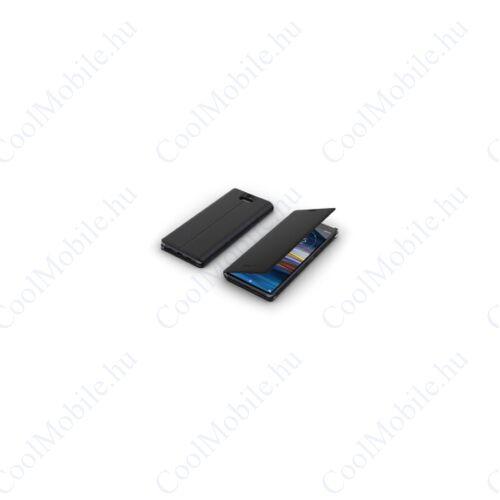 Sony Style gyári flip tok Xperia 10, fekete (SCSI10 )