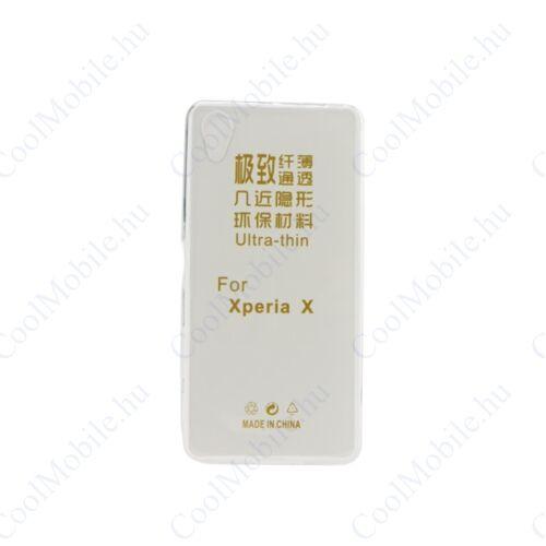 Sony Xperia L3 ultra slim 0,3mm szilikon tok. átlátszó