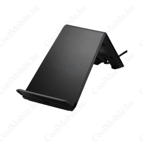 Spigen Essential F303W vezeték nélküli wireless gyorstöltő (9W), fekete