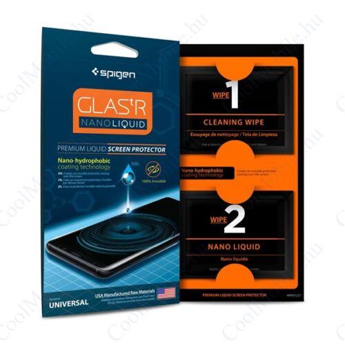 "Spigen ""Glas.tR Nano Liquid"" folyékony kijelzővédő fólia"