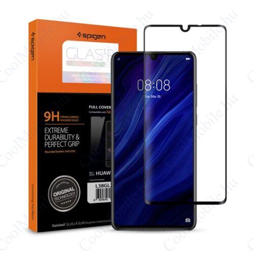 """Spigen """"Glas.tR SLIM"""" Huawei P30 Tempered kijelzővédő fólia"""