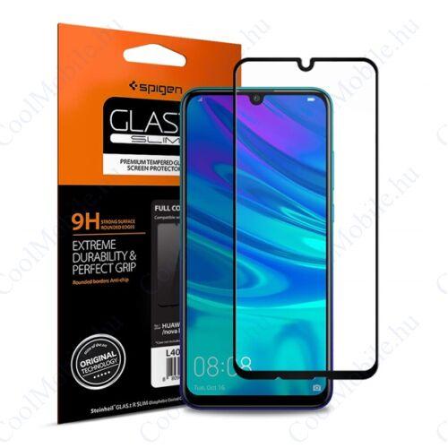 """Spigen """"Glas.tR SLIM"""" Huawei P smart 2019 Tempered kijelzővédő fólia"""