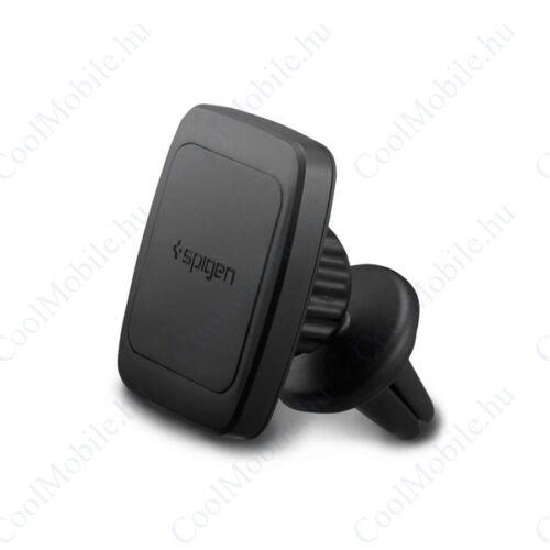 Spigen Kuel H12 mágneses forgatható univerzális autós tartó szellőzőrácsba, fekete