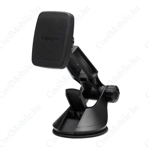 Spigen Kuel H36 tapadókorongos, univerzális mágneses autós tartó, fekete (000CG21495)