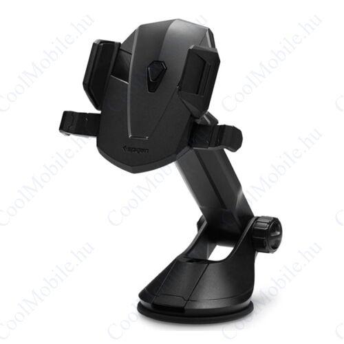 Spigen Kuel Signature TS35 (AP12) tapadókorongos univerzális autós tartó műszerfalra, fekete