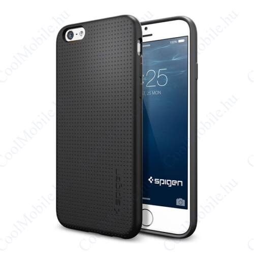 Spigen Capsule Apple iPhone 6/6s Black tok, fekete