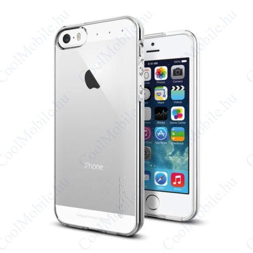 Spigen Liquid Armor Apple iPhone SE/5s/5 Crystal Clear tok, átlátszó