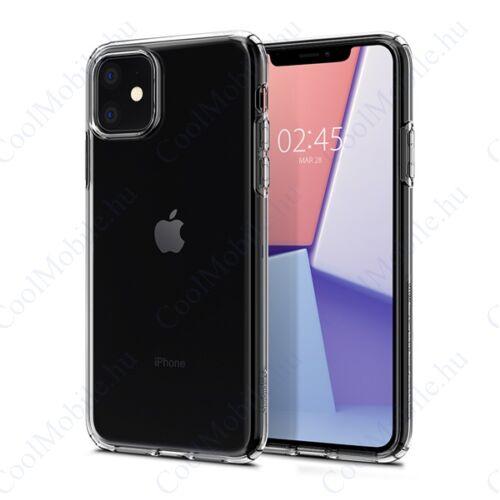 Spigen Liquid Crystal Apple iPhone 11 Crystal Clear tok, átlátszó