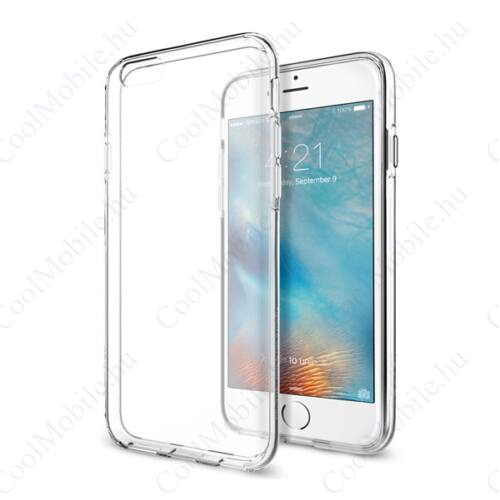 Spigen Liquid Crystal Apple iPhone 6/6s Crystal Clear tok, átlátszó