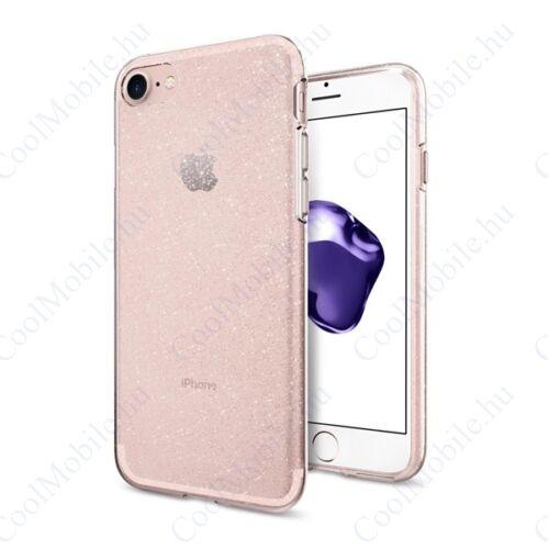Spigen Liquid Crystal Glitter Apple iPhone SE(2020)/8/7 Crystal Clear tok, átlátszó