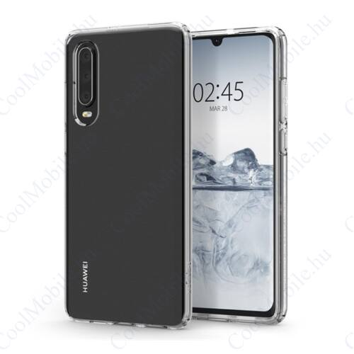 Spigen Liquid Crystal Huawei P30 Crystal Clear tok, átlátszó
