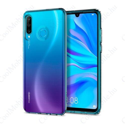 Spigen Liquid Crystal Huawei P30 Lite Crystal Clear tok, átlátszó