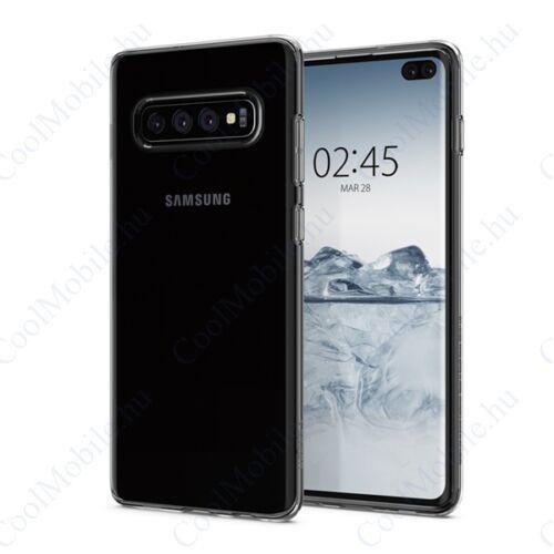 Spigen Liquid Crystal Samsung Galaxy S10+ Crystal Clear tok, átlátszó