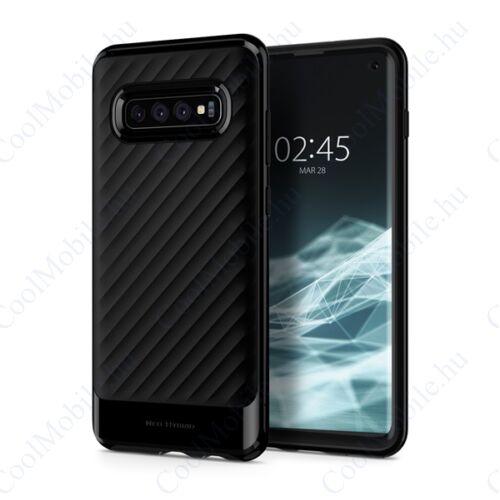 Spigen Neo Hybrid Samsung Galaxy S10 Midnight Black tok, fekete