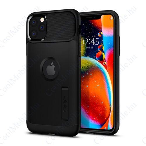Spigen Slim Armor Apple iPhone 11 Pro Black tok, fekete