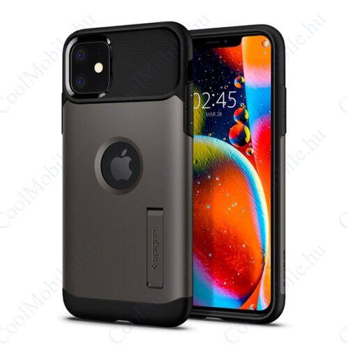 Spigen Slim Armor Apple iPhone 11 Gunmetal tok, szürke