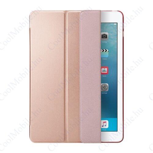 """Spigen Smart Fold Apple iPad 9,7"""" (2017/2018) oldalra nyíló tok, rozéarany"""