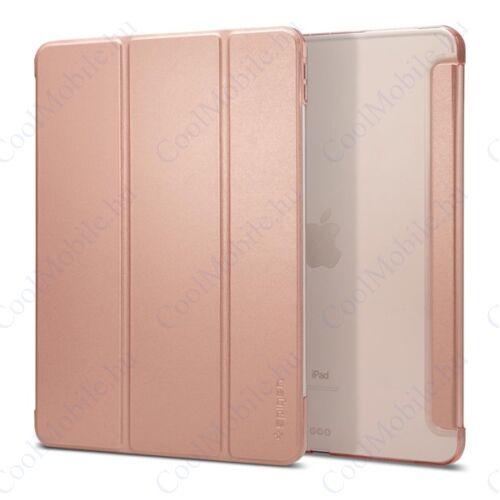 """Spigen Smart Fold Apple iPad Pro 11"""" (2018) oldalra nyíló tok, rozéarany"""