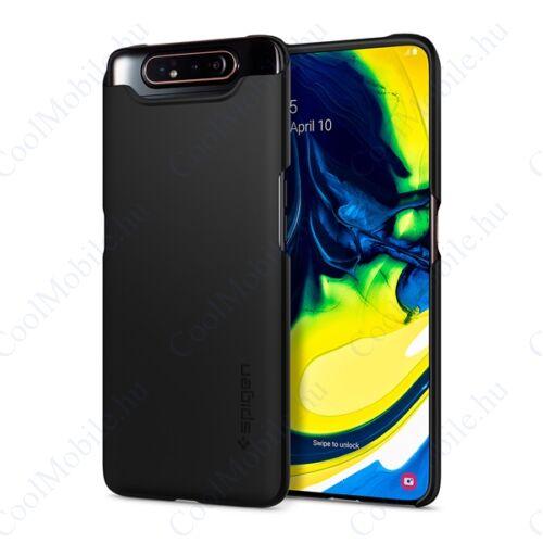 Spigen Thin Fit Samsung A805 Galaxy A80 Black tok, fekete