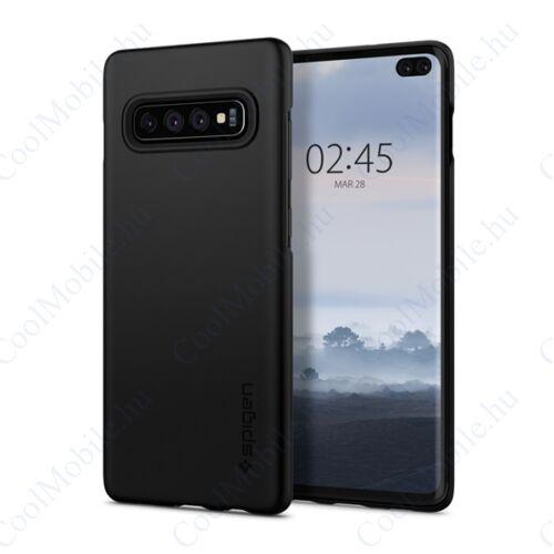 Spigen Thin Fit Samsung G975 Galaxy S10+ Black tok, fekete