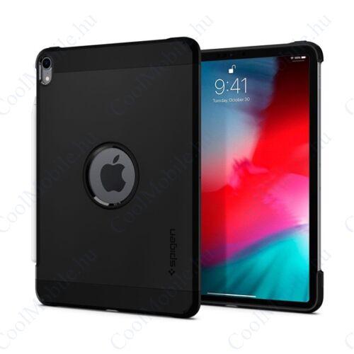 "Spigen Tough Armor Apple iPad Pro 11"" (2018) Black tok, fekete"
