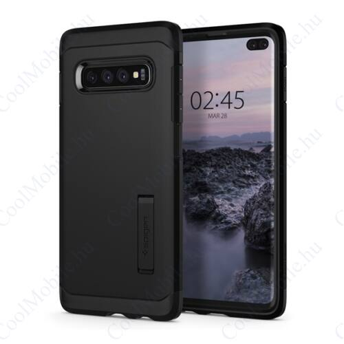 Spigen Tough Armor Samsung Galaxy S10+ Black tok, fekete