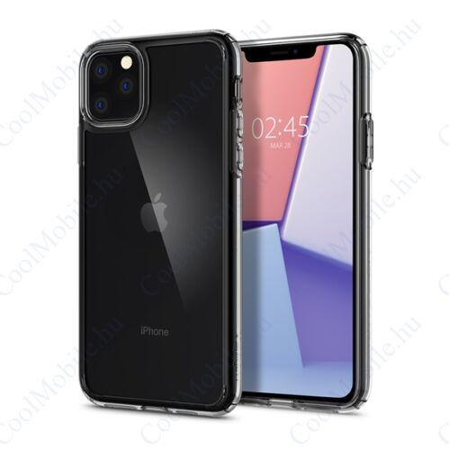 Spigen Ultra Hybrid Apple iPhone 11 Pro Crystal Clear tok, átlátszó