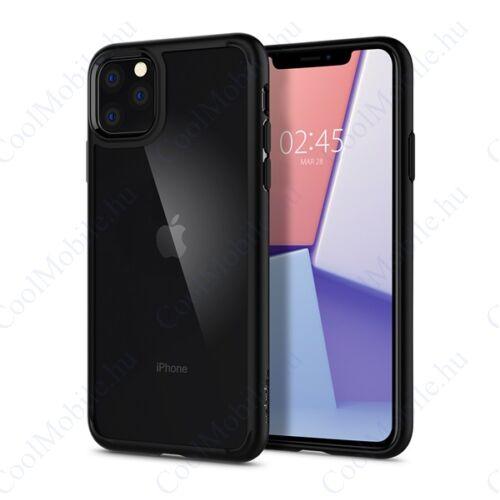 Spigen Ultra Hybrid Apple iPhone 11 Pro Matte Black tok, fekete