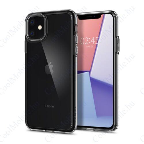 Spigen Ultra Hybrid Apple iPhone 11 Crystal Clear tok, átlátszó