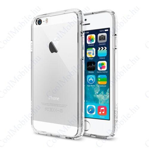 Spigen Ultra Hybrid Apple iPhone 6/6s Crystal Clear tok, átlátszó