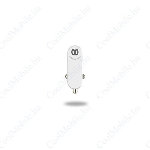 UMY Autós töltő, 1xUSB, 5V/2A, fehér