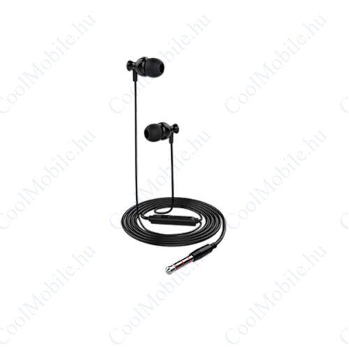 UMY Headset, 3,5mm jack, fekete