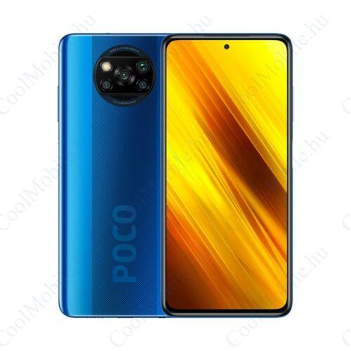 Xiaomi Poco X3 NFC 128GB 6GB Dual kobaltkék, 1 év garancia
