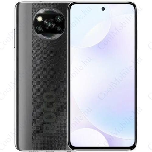 Xiaomi Poco X3 NFC 64GB 6GB Dual árnyszürke, 1 év garancia