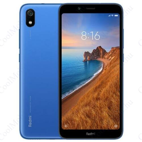 Xiaomi Redmi 7A 2GB 32GB Dual SIM (B20), kék, Kártyafüggetlen, 1 év garancia