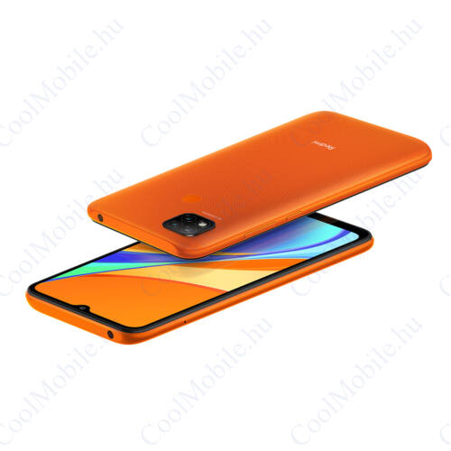 Xiaomi Redmi 9C 32GB 2GB Dual narancs,1 év garancia